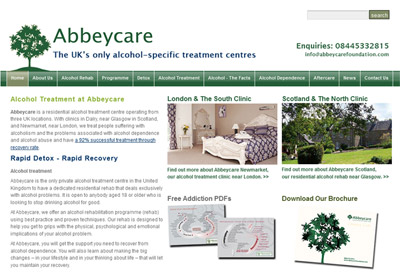 Abbeycare Website Refresh